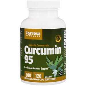 джэрроу формулас, Curcumin 95, 500 mg, 120 Veggie Caps отзывы