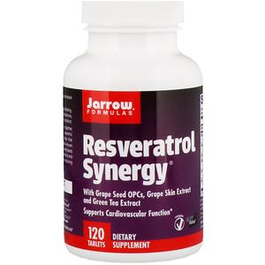 джэрроу формулас, Resveratrol Synergy, 120 Tablets отзывы покупателей