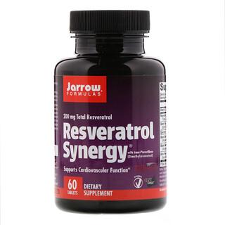 Jarrow Formulas, Resveratrol Synergy, 200 mg Total Resveratrol, 60 Tablets