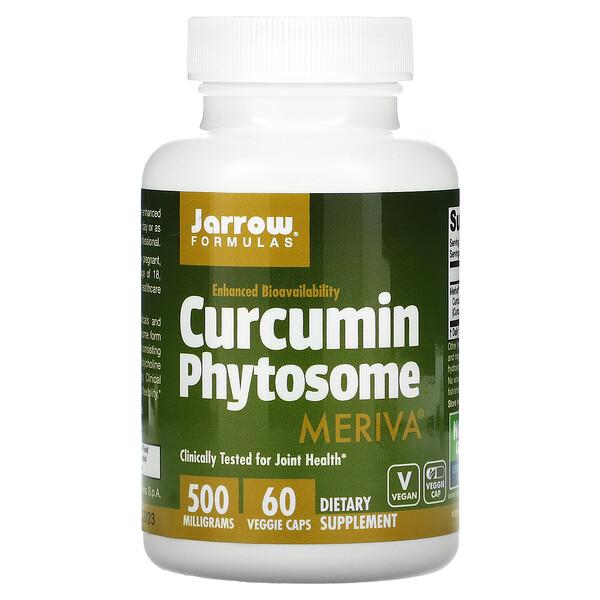 Curcumin Phytosome с Meriva, 500 мг, 60 растительных капсул