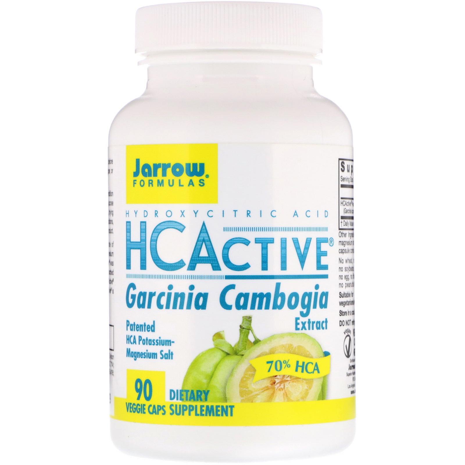 Jarrow Formulas Hcactive Garcinia Cambogia Extract 90 Veggie Caps