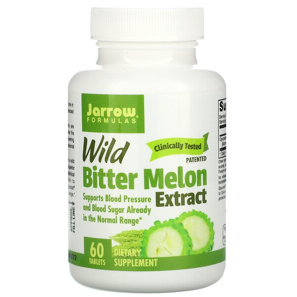 Jarrow Formulas, Wild Bitter Melon Extract, 60 Tablets