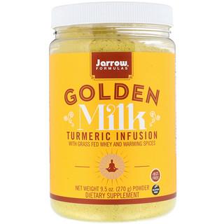 Jarrow Formulas, Leite Dourado, Infusão Turmérica, 270 g