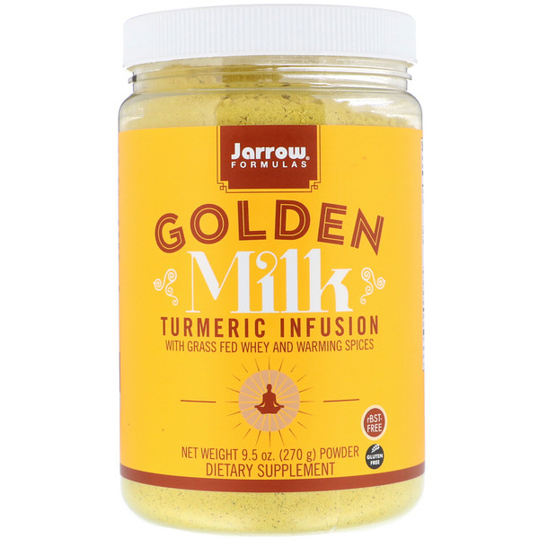 Jarrow Formulas, Golden Milk, Turmeric Infusion, 9.5 oz (270 g) (Discontinued Item)