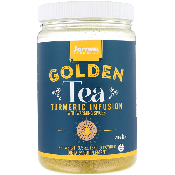 Jarrow Formulas, Golden Tea, Turmeric Infusion, 9.5 oz (270 g)