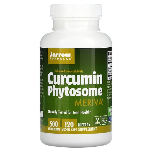 Curcumin Phytosome, 500 mg, 120 Veggie Caps