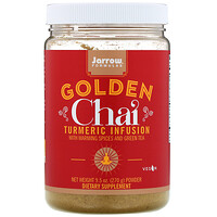 Golden Chai, Turmeric Infusion Powder, 9.5 oz (270 g) - фото