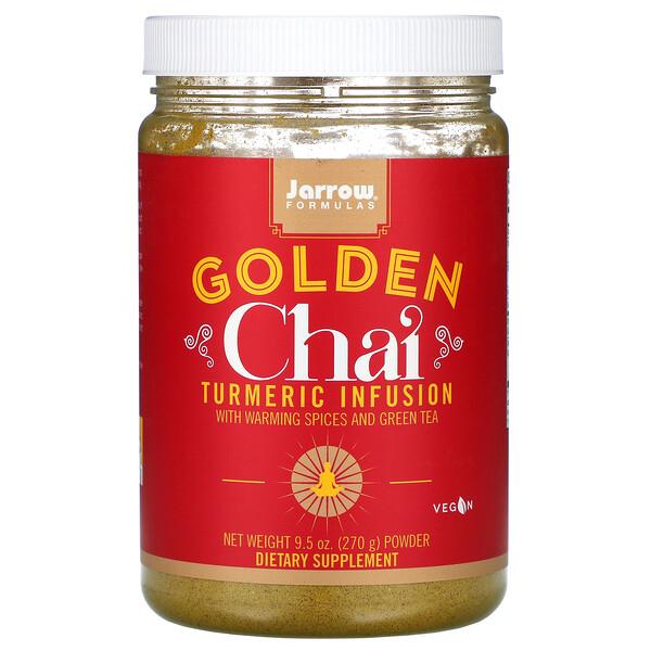 Golden Chai, Turmeric Infusion Powder, 9.5 oz (270 g)