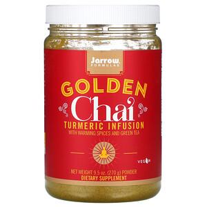 джэрроу формулас, Golden Chai, Turmeric Infusion Powder, 9.5 oz (270 g) отзывы