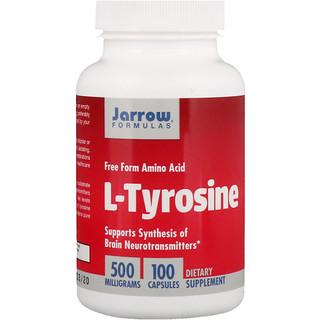 Jarrow Formulas, L-チロシン, 500 mg, 100 カプセル
