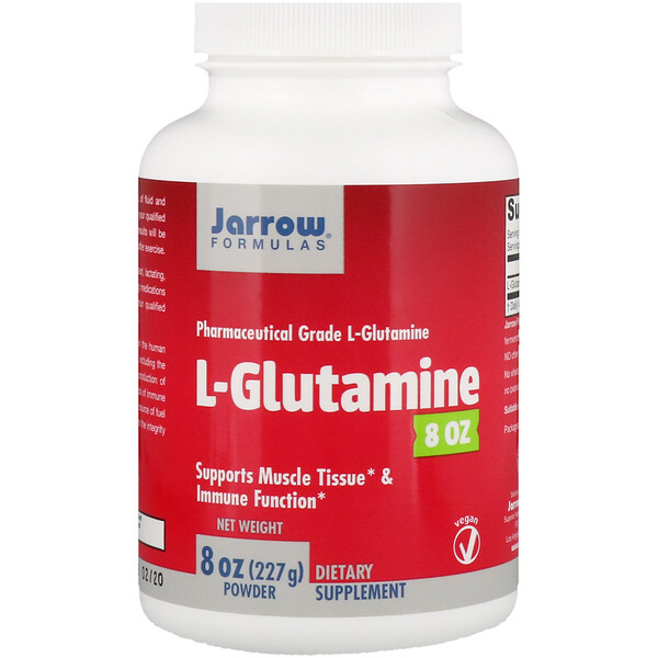 L-Glutamine Powder, 8 oz (227 g)