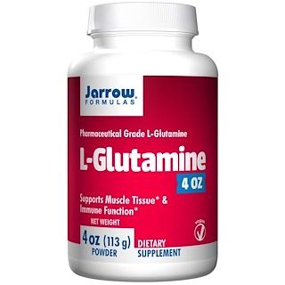 Jarrow Formulas, L-глютамин, 4 унции (113 г), порошок