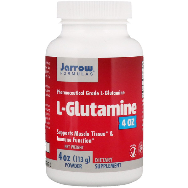 Jarrow Formulas, L-Glutamine Powder, 4 oz (113 g)