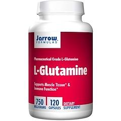 Jarrow Formulas, L-Glutamine, 750 mg, 120 Capsules