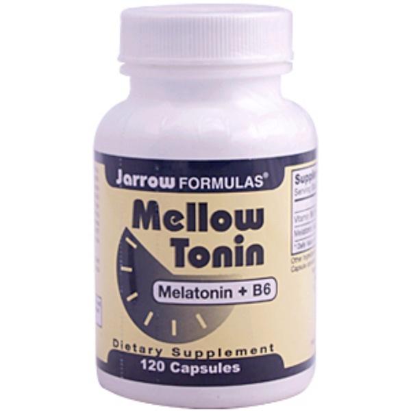 Jarrow Formulas, Mellow Tonin, 120 Capsules (Discontinued Item)