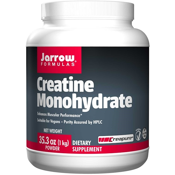Jarrow Formulas, Creatine Monohydrate Powder, 35.3 oz (1 kg)