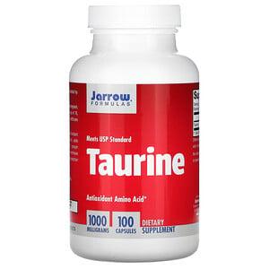 джэрроу формулас, Taurine, 1000 mg, 100 Capsules отзывы