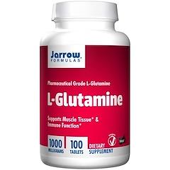 Jarrow Formulas, L-Glutamine, 1000 mg, 100 Tablets