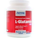 Отзывы о Jarrow Formulas, Порошок L-глютамина, 35,3 унц. (1000 г)