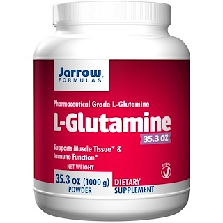 Jarrow Formulas, L-Glutamine, Powder, 35.3 oz (1000 g)