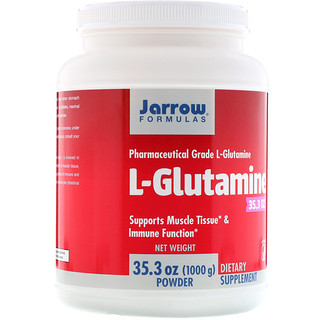 Jarrow Formulas, L-Glutamine Powder, 2.2 lbs (1000 g)