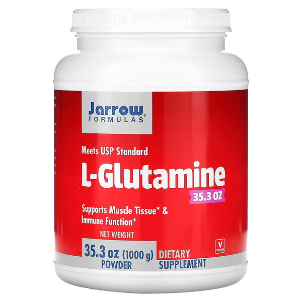 L-Glutamine Powder, 35.3 oz (1000 g)