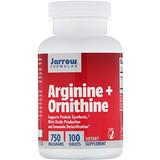 Отзывы о Jarrow Formulas, Аргинин + орнитин, 750мг, 100таблеток