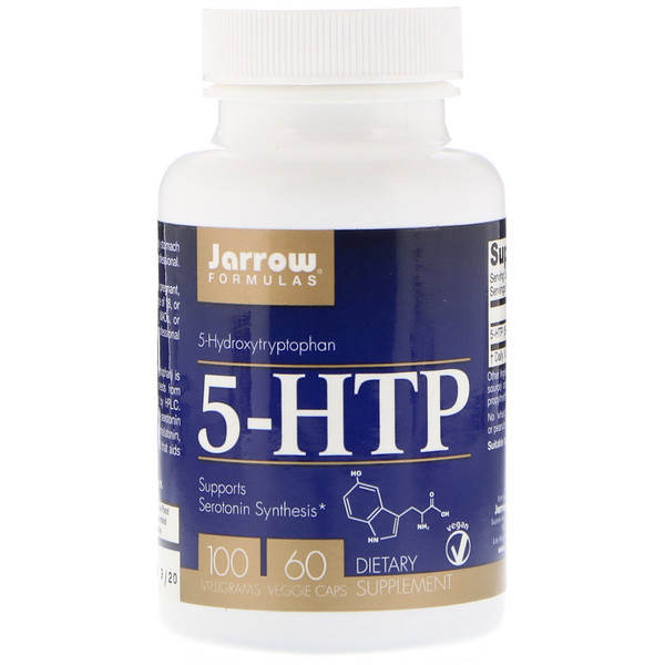 5-HTP، 100 مجم، 60 كبسولة نباتية