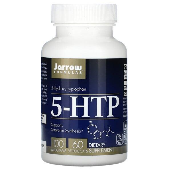 5-HTP, 100 мг, 60 растительных капсул
