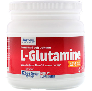 Jarrow Formulas, L-Glutamine Powder, 1.1 lbs (500 g)