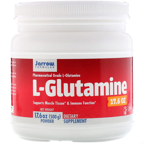L-Glutamine Powder, 17.6 oz (500 g)
