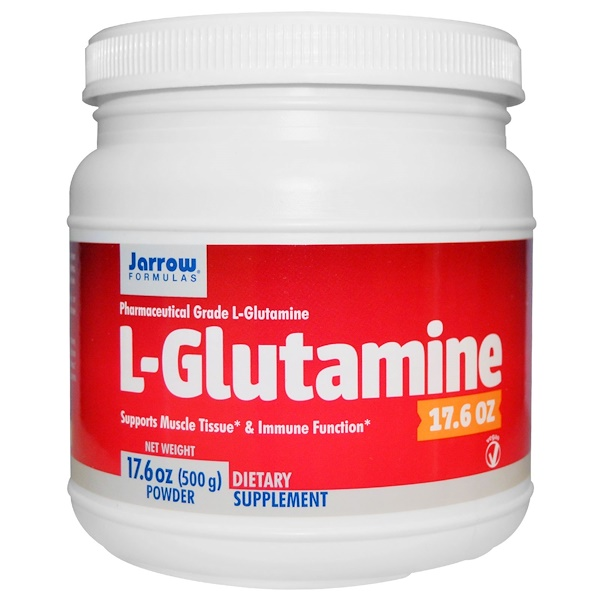 Jarrow Formulas, L-Glutamine, Powder, 17.6 oz (500 g)