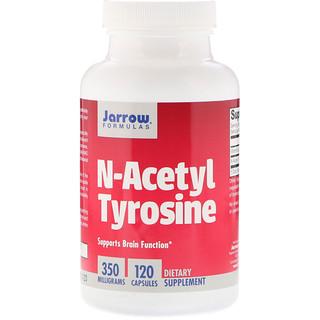 Jarrow Formulas, N-ацетил тирозин, 350 мг, 120 капсул
