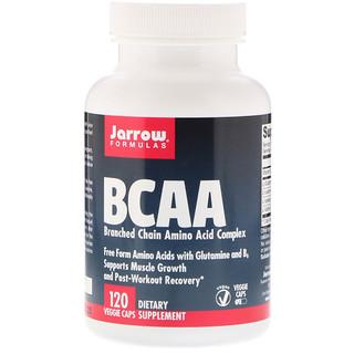Jarrow Formulas, BCAA, Complexo de Aminoácido, 120 Cápsulas