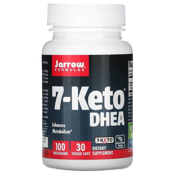 7-Keto DHEA, 100 mg, 30 Veggie Caps