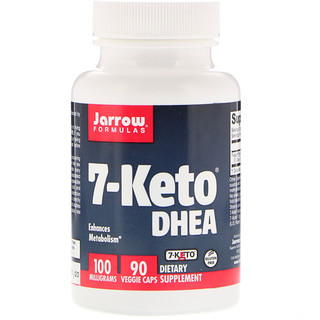 Jarrow Formulas, 7-Keto DHEA, 100 mg, 90 Veggie Caps