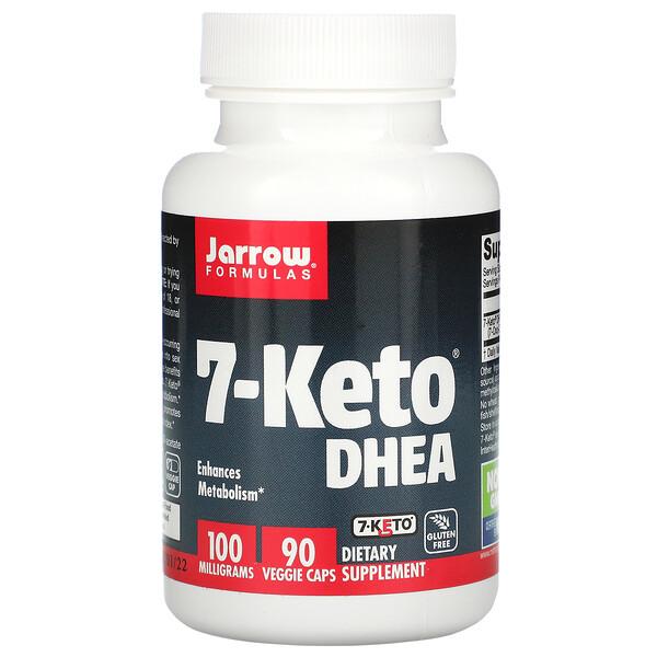7-Keto DHEA, Suplemento alimentario 100mg, 90cápsulas vegetales