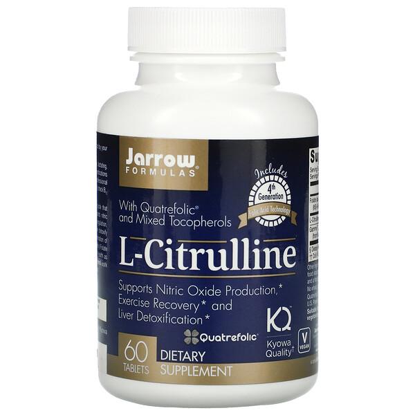 L-Citrulline, 60 Tablets