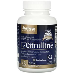джэрроу формулас, L-Citrulline, 60 Tablets отзывы покупателей