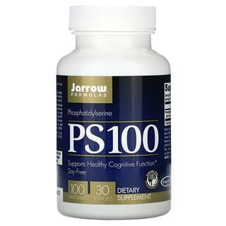Jarrow Formulas, PS 100, Phosphatidylserine, 100 mg, 30 Softgels