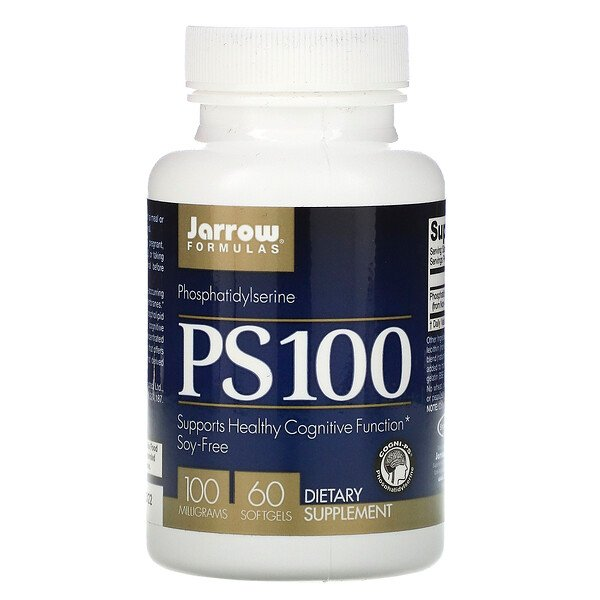 PS100, Phosphatidylserine, 100 mg, 60 Softgels