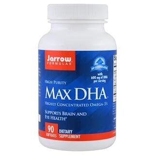 Jarrow Formulas, Max DHA, 90 Softgels