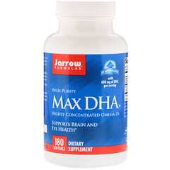 Jarrow Formulas, Max DHA, 180 Softgels