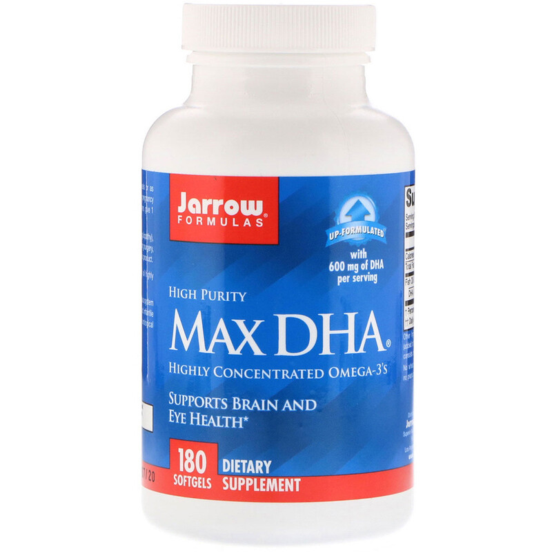 Max DHA, 180 Softgels
