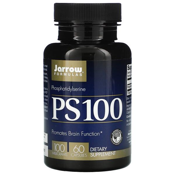 PS100, фосфатидилсерин, 100мг, 60капсул