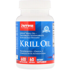 Jarrow Formulas, 磷蝦油,60 粒軟膠囊
