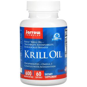 джэрроу формулас, Krill Oil, 60 Softgels отзывы