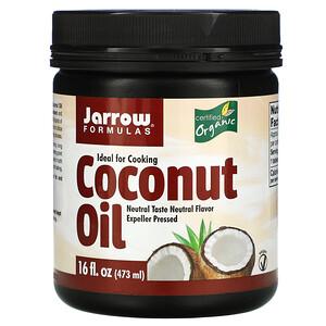 джэрроу формулас, Organic Coconut Oil, Expeller Pressed, 16 fl oz (473 g) отзывы