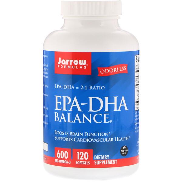 Jarrow Formulas, EPA-DHA バランス、120ソフトジェル