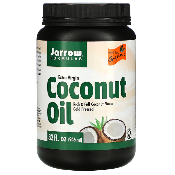 Jarrow Formulas, Extra Virgin Coconut Oil, 32 fl oz (946 ml)